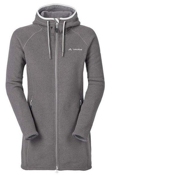 VAUDE Damen Coat II Jacke Fleecemantel Mantel - grau XXL