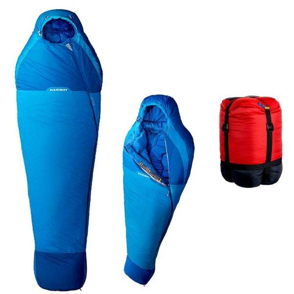 Mammut - Schlafsack Kompakt MTI 3-Season 210cm L - blau