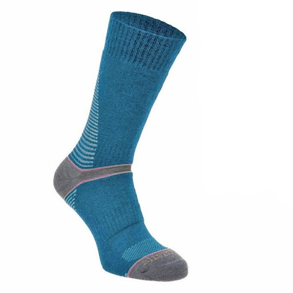 Silverpoint - On The Move Boot Sock - Merino Socken - blau
