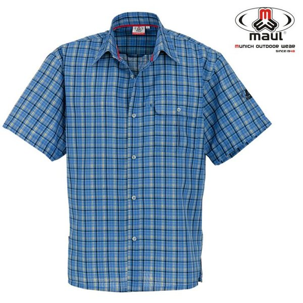 Maul - Askim - Herren Hemd MDS - blau/grau