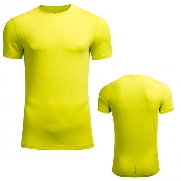 Outhorn - Herren Trainingsshirt - Sport T-Shirt - neongelb