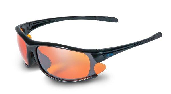 Nexi - S9 Sportbrille verspiegelt - Sonnenbrille - shiny black