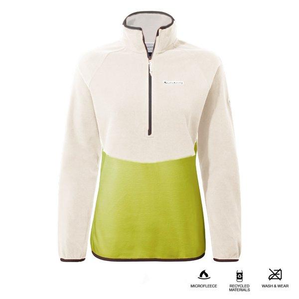 Craghoppers - Kyla - Damen Fleece Pullover - grün weiß