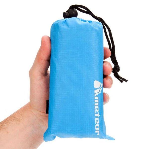 Meteor - Decke Pocket Blanket Picknick Chill Tuch - 140x180cm - hellblau