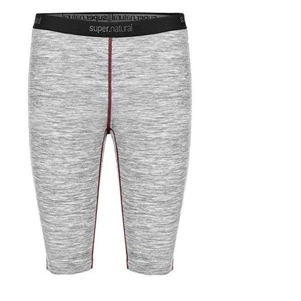 super.natural Knielange Damen Funktions-Unterhose, Mit Merinowolle, W BASE SHORT TIGHT 175 - XS/S