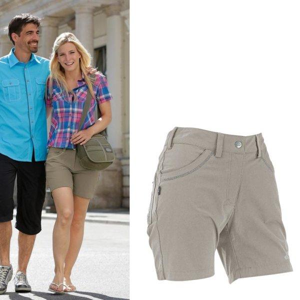 Maul - Lyon Damen Shorts - beige