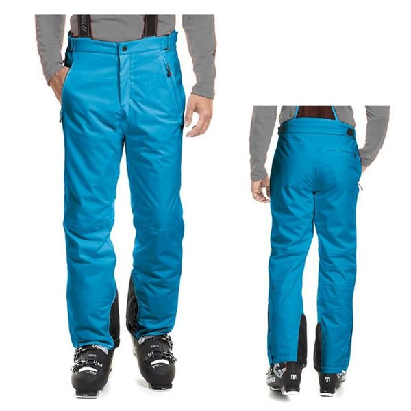 Maier Sports Anton 2 Herren Skihose Winterhose, blau, 48 M