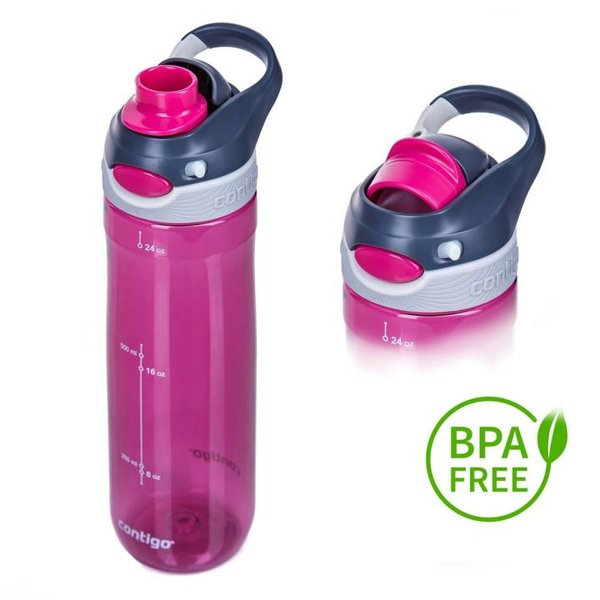 Contigo TrinkflascheChug Sport Fitness Flasche - 720ml - pink