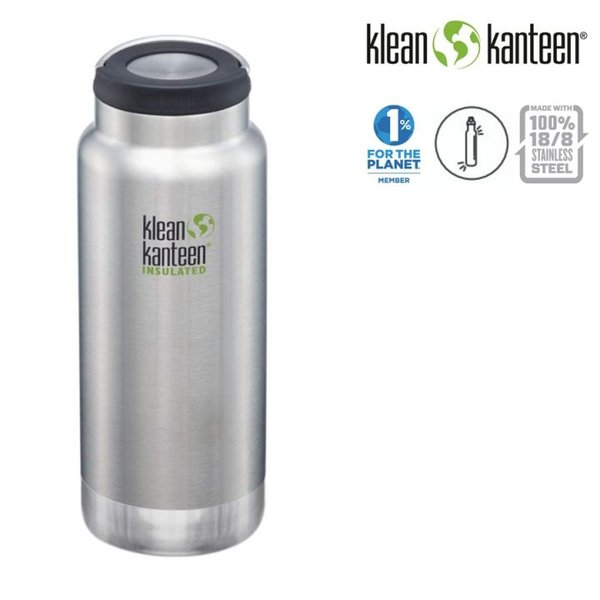 Klean Kanteen - Sport Classic Trinkflasche Brushed Stainless, 946ml