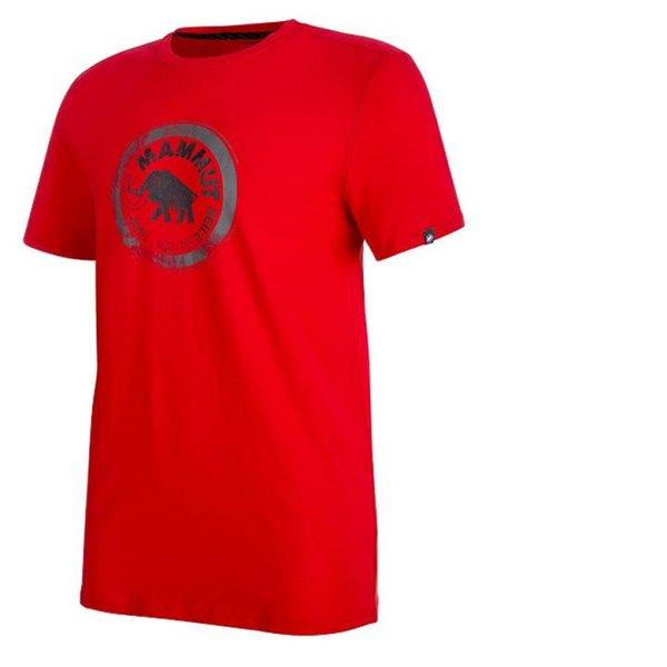 Mammut Herren T-Shirt Seile - magma rot, S