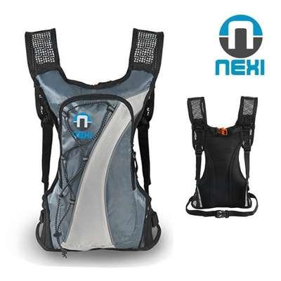 Nexi - SPRINTER - Sportrucksack Fahrradrucksack - Bike-Rucksack 2L -  grau-blau
