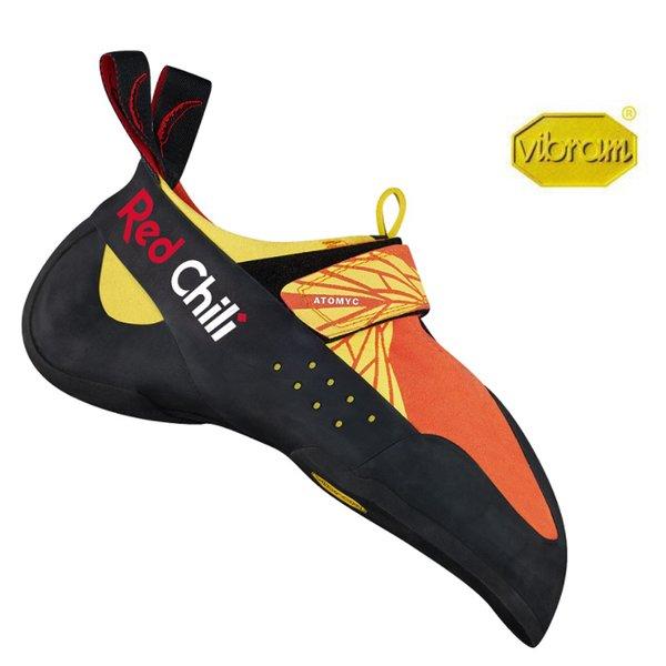 Red Chili - ATOMYC 8.0 - Kletterschuhe - Vibram XS-Grip2 Gummi - orange gelb