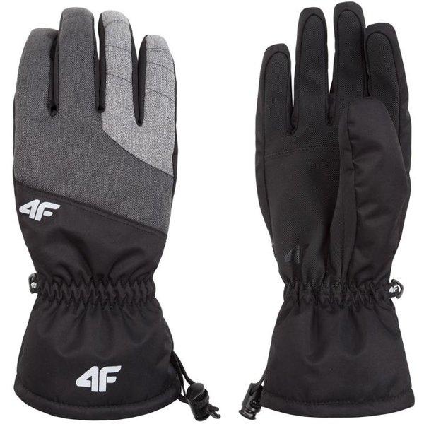 4F - Concept 2018 - Skihandschuhe - grau schwarz