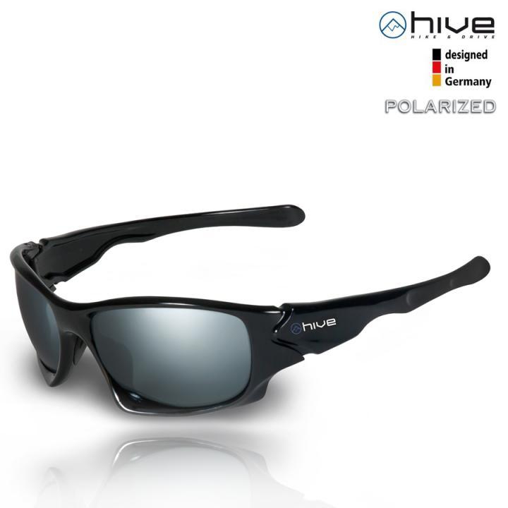 hive - polarisierte Sonnenbrille verspiegelt - UV400 - Kat. 3 + P