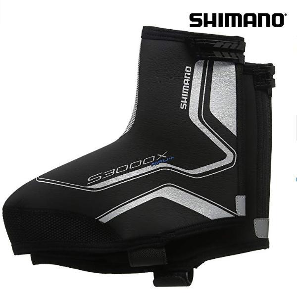 Shimano Überschuhe Trail Npu+/S3000X Shoecover, schwarz