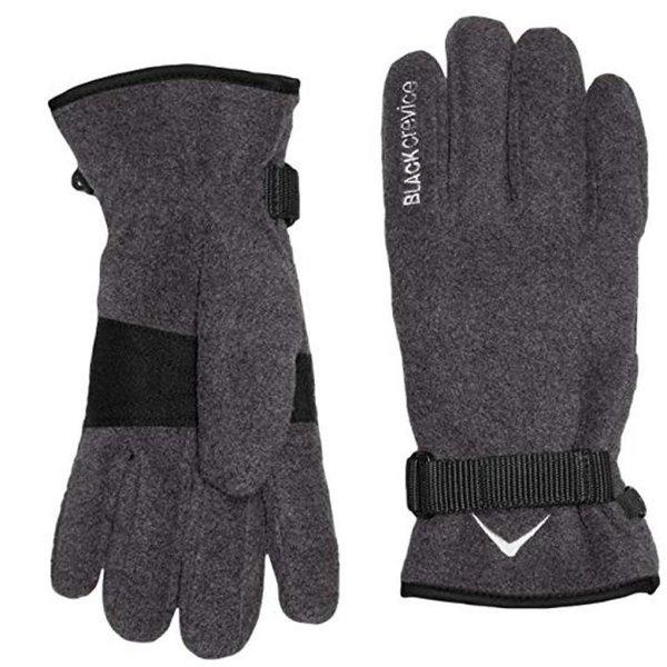Black Crevice - Fleece Handschue - grau