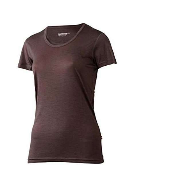 Dachstein - LIMESTONE 2018 - Damen Merino T-Shirt - braun-36/S