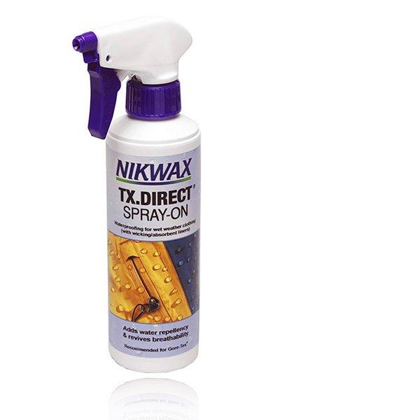 NIKWAX - TX.DIRECT SPRAY-ON - Imprägnierung zum Aufsprühen für Regenbekleidung Mebranjacken - 300ml