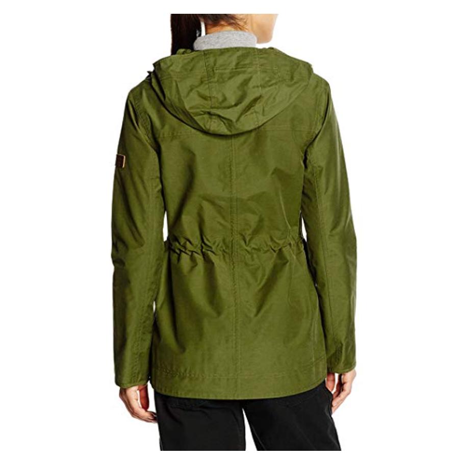 Berghaus wasserdichte Damen Jacke Regenmantel Outdoorjacke grün khaki S 36