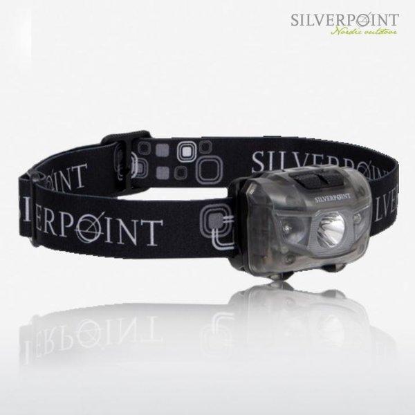 Stirnlampe HUNTER 2 XL120RL - Head Torch 120Lumen - rot und weißes Licht - grau