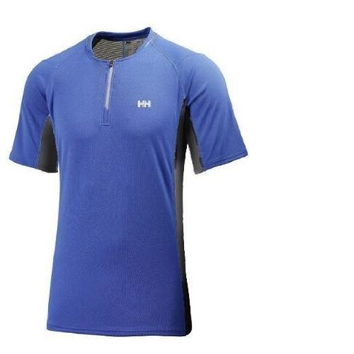Helly Hansen - Baselayer Cool Trailwizard S/S Men - Herren Funktionsshirt Sportshirt - Wasserblau