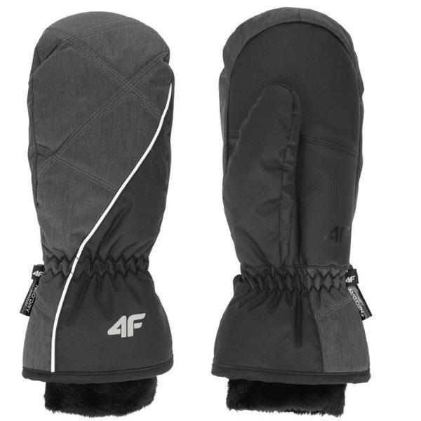 4F - Fäustlinge Skihandschuhe Thinsulate Winterhandschuhe - schwarz