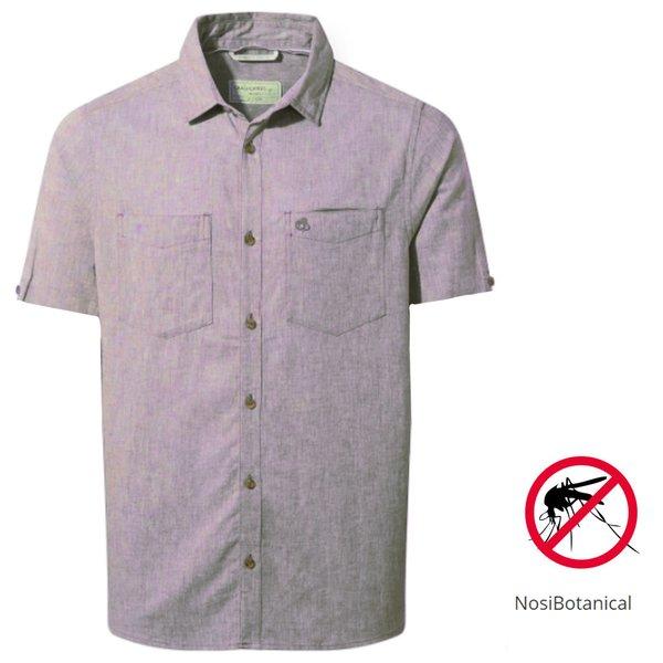 Craghoppers - NB Villar SS Shirt Herren Nosibotanical Hemd, rose