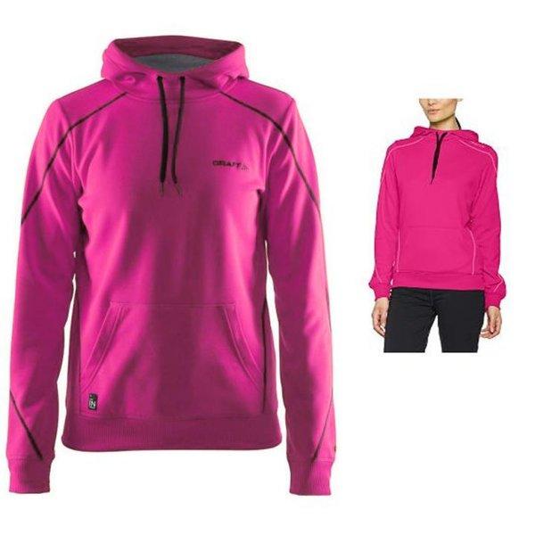 Craft - In-the-Zone Hood W - Damen Hoodie Sportpullover - pink smoothie