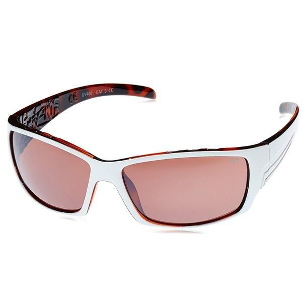 DICE - Sonnenbrille DESIGN - Gläser UV 400 REVO - weiß