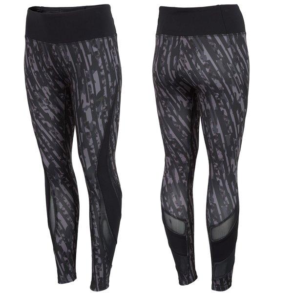 4F - Fitnesshose - Damen Sport Leggings - schwarz bunt
