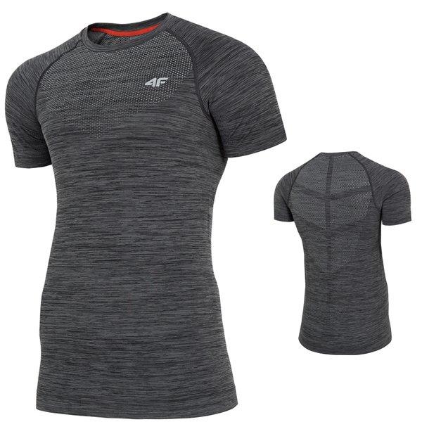 4F - Herren Sport T-Shirt 2019 - grau melange