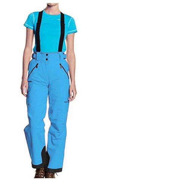 Trangoworld - DuPont FREE4MOVE - Damen Skihose Winterhose mit Trägern - blau-36/S