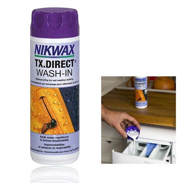 NIKWAX - TX.DIRECT WASH-IN Einwaschbare Imprägnierung - Spezial Waschmittel für Sportbekleidung - 30