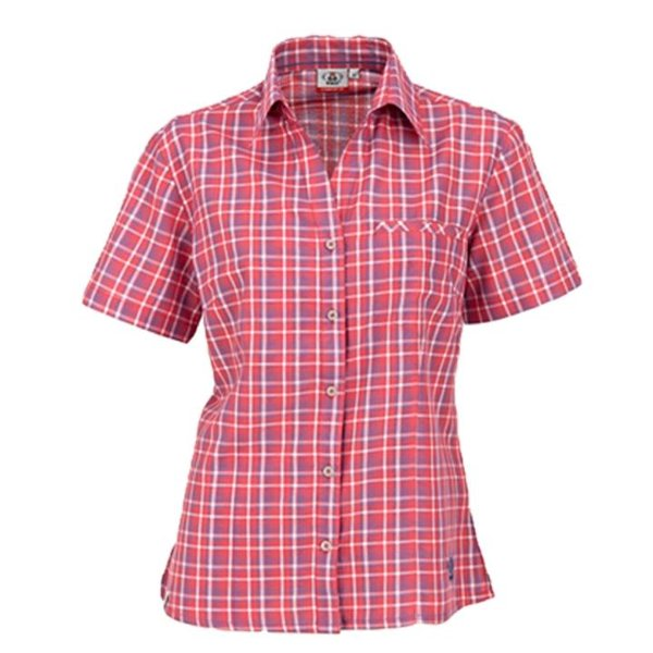 Maul - Sandnes - Damen Outdoor Bluse - rosa/blau