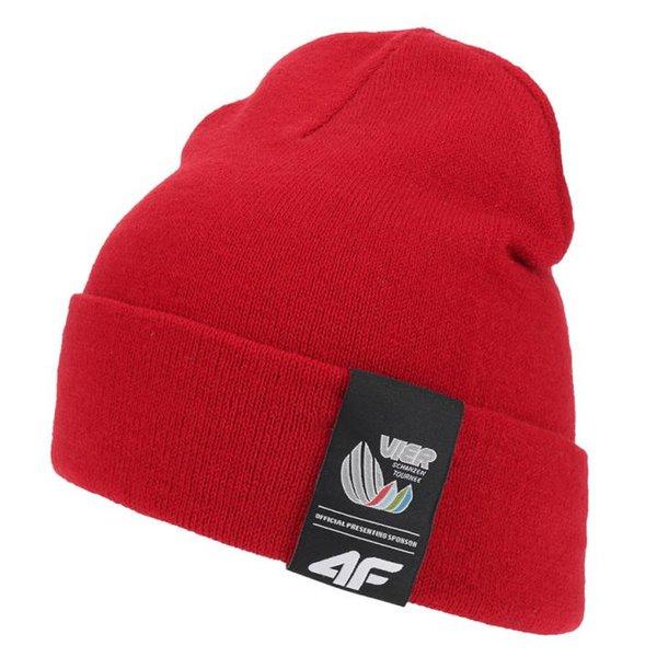 4F - Vierschanzentournee Kollektion - Wintermütze Garmisch - rot