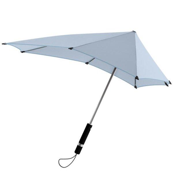 SENZ Original - Taschen Regenschirm Sturm Schirm - bis 80km/h - automatic - blue yarn