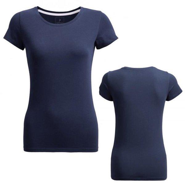 Outhorn - Damen Basic T-Shirt- navy