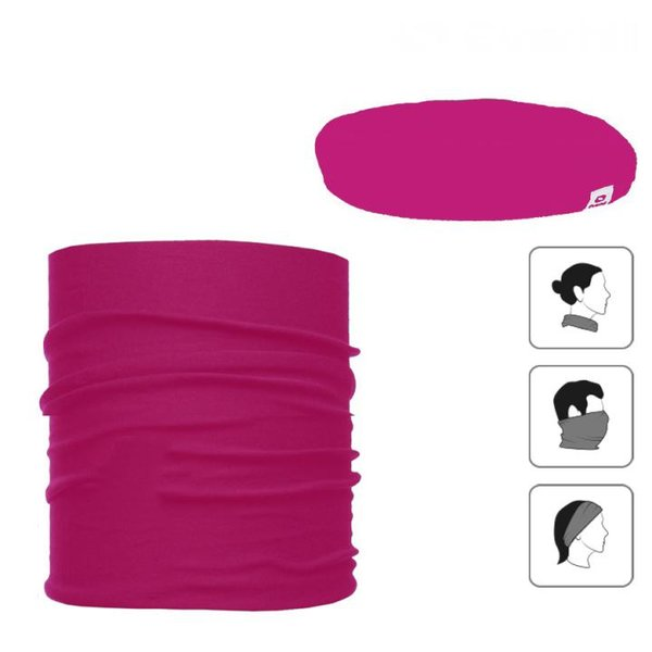Everhill - Multifunktionsschal - Sport Rundschal 3in1 - pink