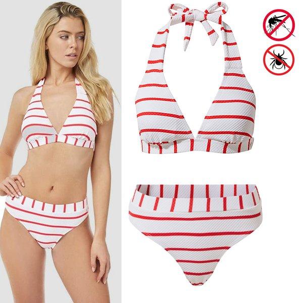 Craghoppers - NosiLife Marina Bikini - weiß rot