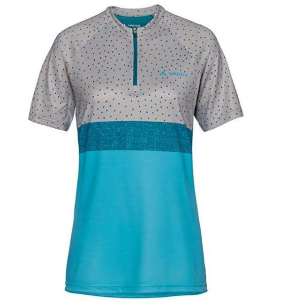 Vaude Damen Ligure Shirt T-Shirt Radtrikot - pewter grey - 38 S/M