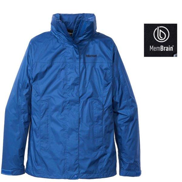 Marmot - Damen PreCip Eco Lite Jacket Regenjacke Hardshell, blau