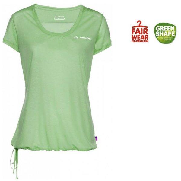 VAUDE - Damen Vallanta Shirt Ii T-shirt Top, grün