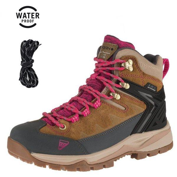 Icepeak - WYNNE Damen Outdoor Boots wasserdichte Trekkingschuhe - braun