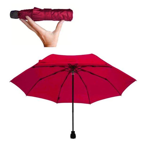 EuroSCHIRM - Göbel - Regenschirm Wanderschirm - light trek, rot