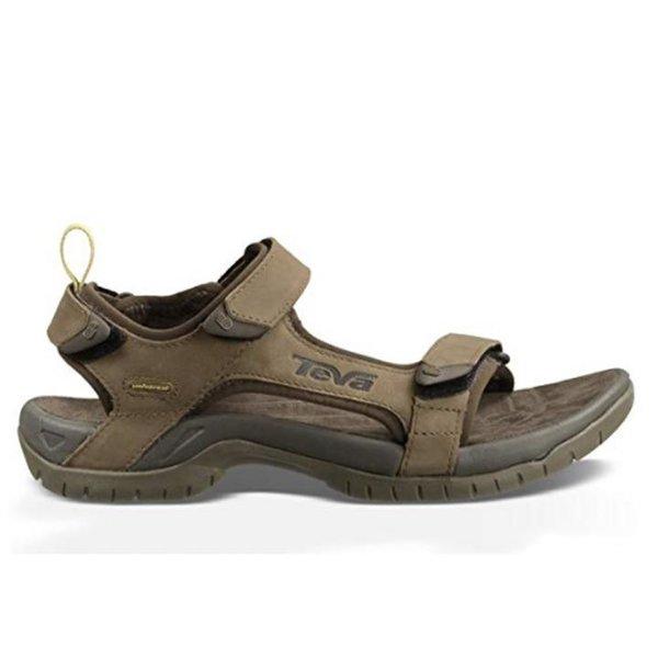 Teva Herren Tanza Leather M's Sandalen Trekking- & Wanderschuhe - braun UK 13 - EU 48,5