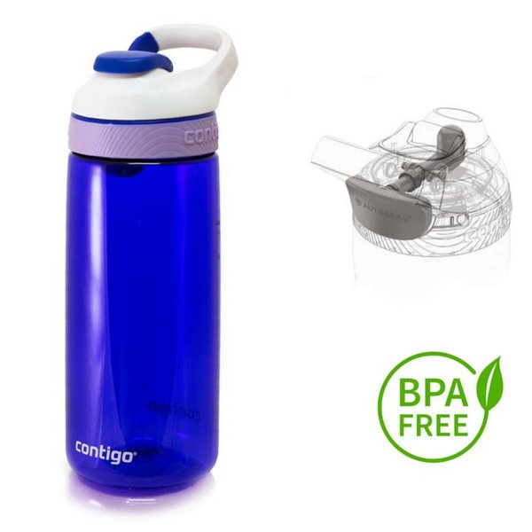 Contigo Trinkflasche Courtney Sport Fitness Flasche - 590ml - blau