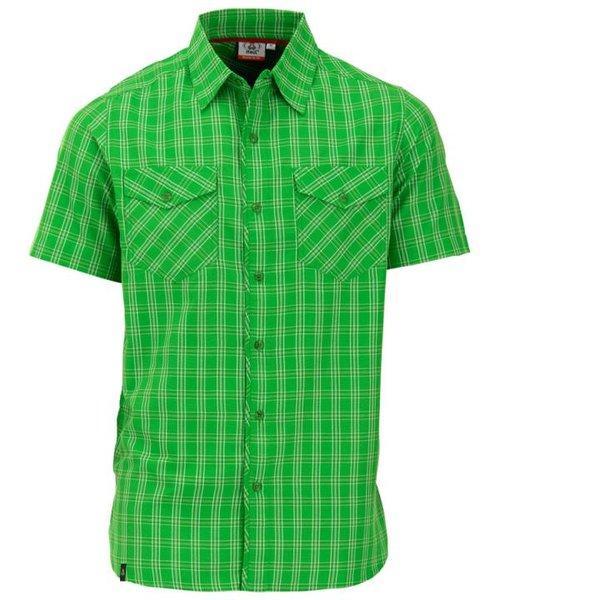Maul - Tranby - Herren Outdoorhemd - grün kariert