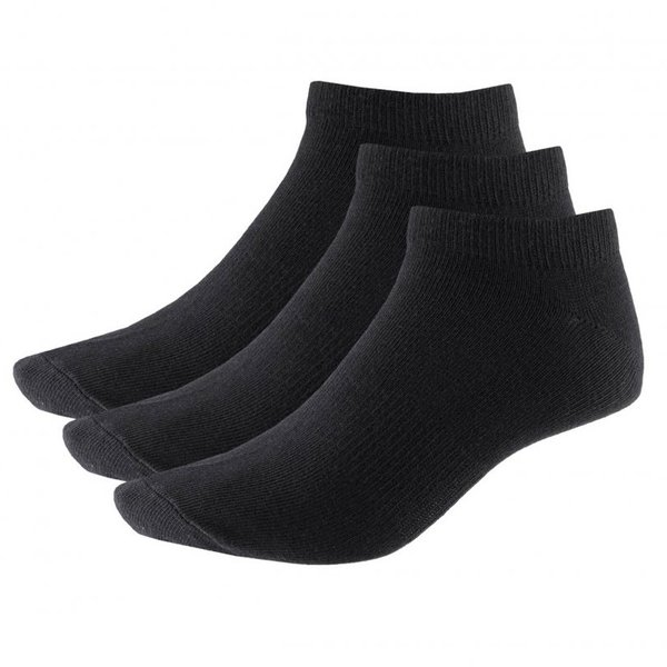 Outhorn - 3er Pack Damen Sneakersocken - Freizeitsocken schwarz