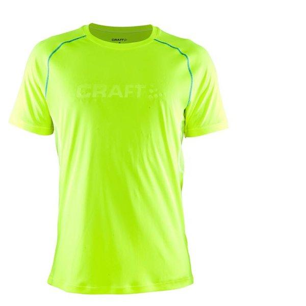 Craft - Herren Prime Craft SS TEE M Sportshirt - neongrün