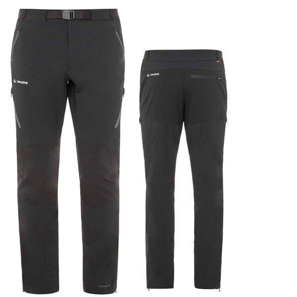 Vaude Defender Pants III Men - Softshellhose Outdoorhose - schwarz